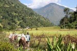 NEPAL - cesta z Bhulbhule do Bahudandy