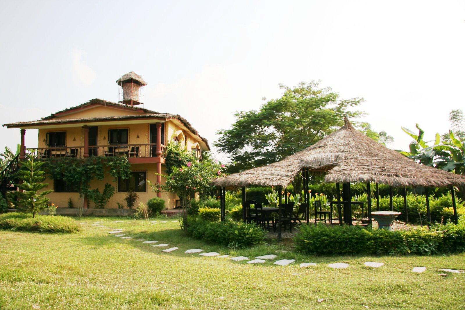 B&B - Hotel Sapana Village Lodge Pokhary Chitwan Nepal | Sapana ...