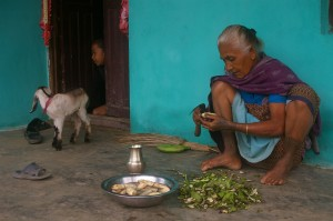 NEPAL - Chitwan National Park, Tharu people