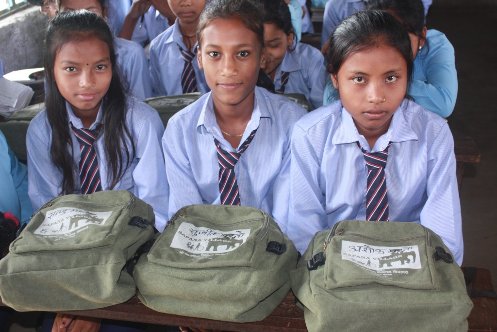 Sapana School social project - Chitwan Nepal