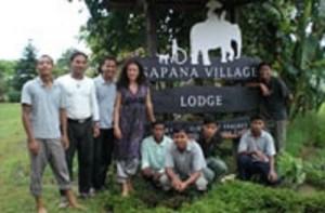 Katja Schuurman at Sapana Lodge Chitwan Nepal