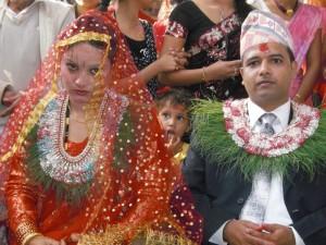 NEPAL - Chitwan National Park, Tharu people wedding