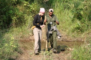 NEPAL - Chitwan, jungle walk