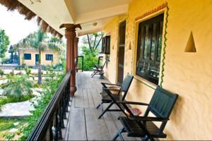 Hotelroom Chitwan Nepal at Sapana Lodge - more than just a hotel