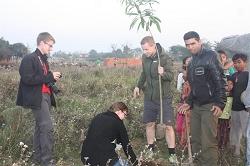 Sapana nature conservation - tree planting