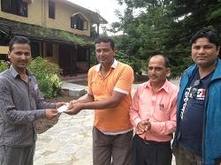 Friendly staff at hotel Sapana Village Lodge Chitwan Nepal - Meet the team