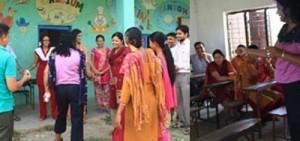 Teaching workshop Chitwan Nepal