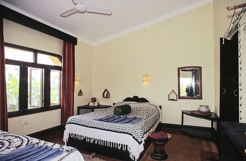 Hotelroom Sapana Lodge Chitwan Nepal