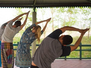 Mindfulness retreat Nepal - Chitwan at Hotel B&B Sapana Lodge