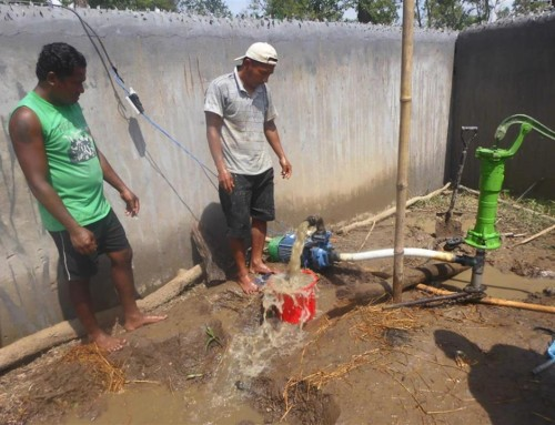 WATER PUMP FOR CHILDREN HOME