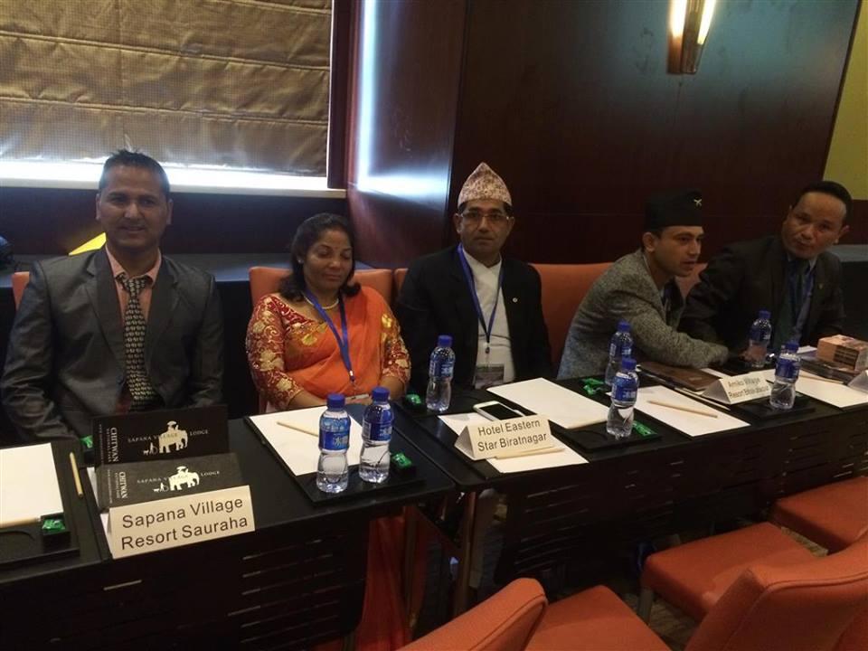 Tourism Expo China - Sapana Lodge Chitwan Nepal