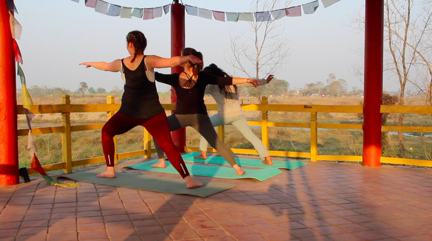 Yoga retreat Nepal - Chitwan at Hotel B&B Sapana Lodge