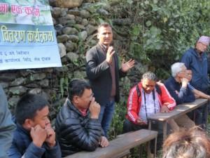 Dhruba Giri - Manager Hotel Sapana Lodge Chitwan Nepal