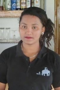 Kitchen staff hotel B&B Sapana Lodge Chitwan Nepal - Sandhya Shrestha