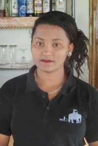 Kitchen staff hotel B&B Sapana Lodge Chitwan Nepal - Sandhya Shrestha